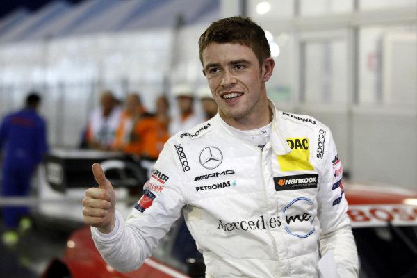 Pole sitter Paul Di Resta, Mercedes-AMG Team HWA.