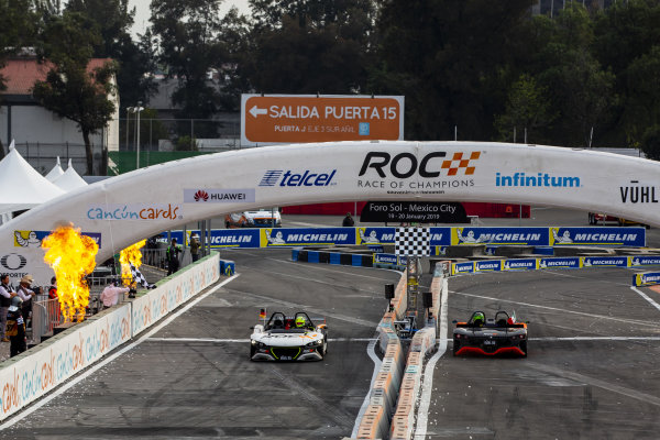 Mick Schumacher (GER) beats Benito Guerra (MEX) driving the VUHL 05 ROC Edition 2019