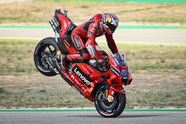 Jack Miller, Ducati Team, Stoppie.