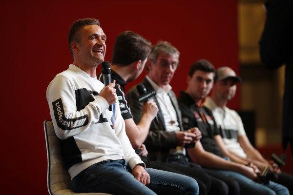 BTCC drivers Colin Turkington, Tom Ingram, Jason Plato, Dan Cammish and Andrew Jordan are interviewed on the Autosport stage