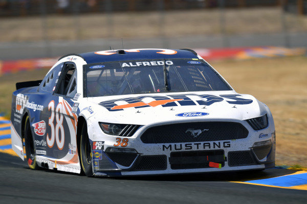 #38: Anthony Alfredo, Front Row Motorsports, Ford Mustang MDS