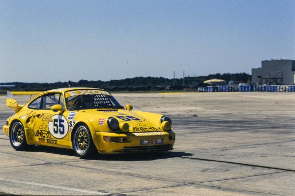 Enzo Calderari / Lilian Bruner / Ulli Ricter Stadler Motorsport, Porsche 964 Carrera RSR.