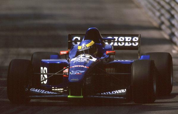 International F3000 MonacoMonte Carlo, Rd 5, 2nd - 3rd june 2000.Sebastien Bourdais and David Saelens clashed at the first corner forcing Bourdais to retire.World - Bellanca/ LAT PhotographicThree Thousand Monaco