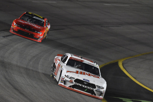 #00: Cole Custer, Stewart-Haas Racing, Ford Mustang Haas Automation, #7: Justin Allgaier, JR Motorsports, Chevrolet Camaro BRANDT Professional Agriculture