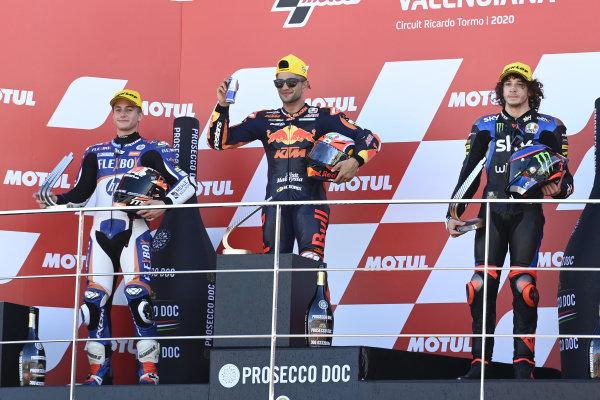 Hector Garzo, Pons HP40, Jorge Martin, Red Bull KTM Ajo, Marco Bezzecchi, Sky Racing Team VR46.