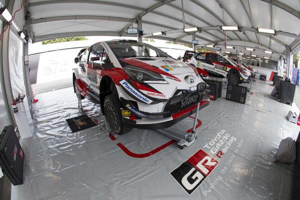 Toyota Gazoo Racing, Toyota Yaris WRC 2018, Service Area