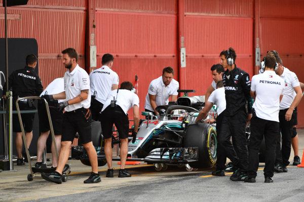 Lewis Hamilton (GBR) Mercedes-AMG F1 W09 EQ Power+