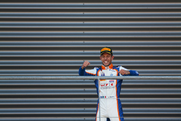 2015 GP3 Series Round 5.  Spa-Francorchamps, Spa, Belgium. Sunday 23 August 2015. Luca Ghiotto (ITA, Trident)  World Copyright: Sam Bloxham/LAT Photographic ref: Digital Image _SBL8985