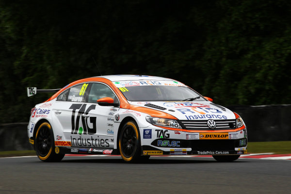 2017 British Touring Car Championship, Oulton Park, 20th-21st May 2017, Will Burns (GBR) Autoaid / RCIB Insurance Racing Volkswagen CC World copyright. JEP/LAT Images