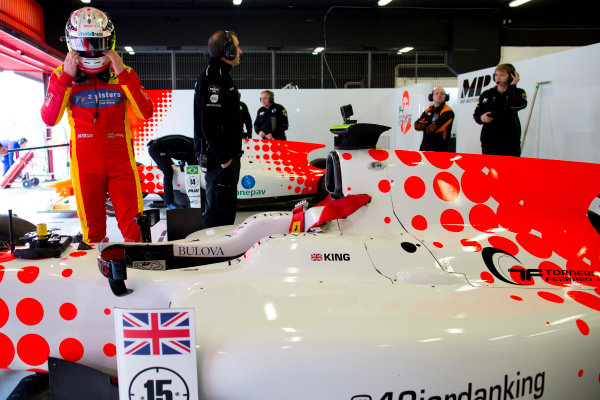 Circuit de Barcelona Catalunya, Barcelona, Spain. Tuesday 14 March 2017. Jordan King (GBR, MP Motorsport). Photo: Alastair Staley/FIA Formula 2 ref: Digital Image 580A0636