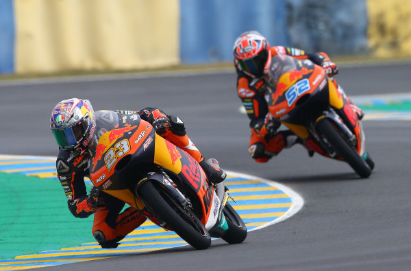 2017 Moto3 Championship - Round 5 Le Mans, France Saturday 20 May 2017 Niccolo Antonelli, Red Bull KTM Ajo World Copyright: Gold & Goose Photography/LAT Images ref: Digital Image 671083
