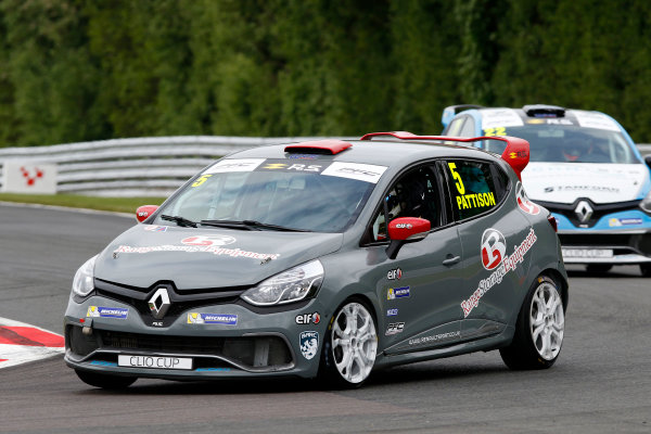 2017 Renault Clio Cup, Oulton Park, 20th-21st May 2017, Lee Pattison (GBR) WDE Motorsport Renault Clio Cup World copyright. JEP/LAT Images