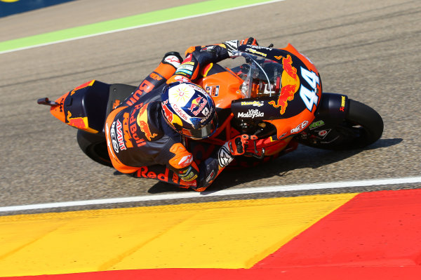 2017 Moto2 Championship - Round 14 Aragon, Spain. Saturday 23 September 2017 Miguel Oliveira, Red Bull KTM Ajo World Copyright: Gold and Goose / LAT Images ref: Digital Image 694250