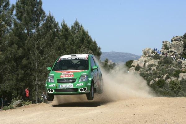 2007 FIA World Rally ChampionshipRound 7Rally Italy Sardinia 200717- 20 of May 2007Shaun Gallagher, Citroen JWRC, Action.Worldwide Copyright: McKlein/LAT