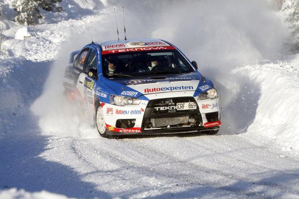 Round 01-Rally Sweden. 10th-13th February 2011.Richard  Goransson, Mitsubishi PWRC, Action.Worldwide Copyright: McKlein/LAT