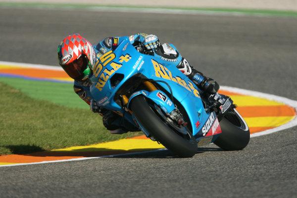 Spain Valencia Nov 05-07Loris Capirossi Rizla Suzuki