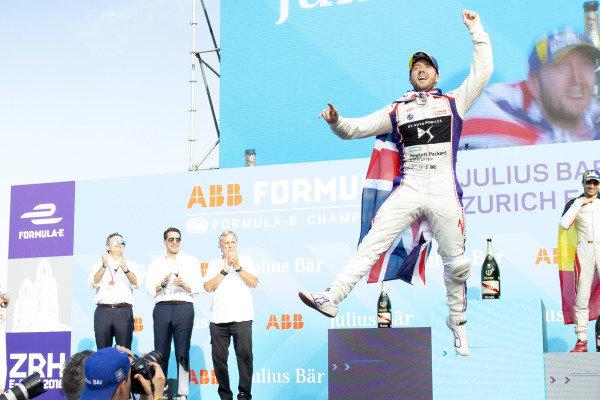 Sam Bird (GBR), DS Virgin Racing, DS Virgin DSV-03, finishes 2nd.