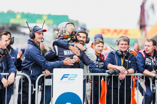 2017 FIA Formula 2 Round 6. Silverstone, Northamptonshire, UK. Sunday 16 July 2017. Artem Markelov (RUS, RUSSIAN TIME).  Photo: JEP/FIA Formula 2. ref: Digital Image 1DXA9059