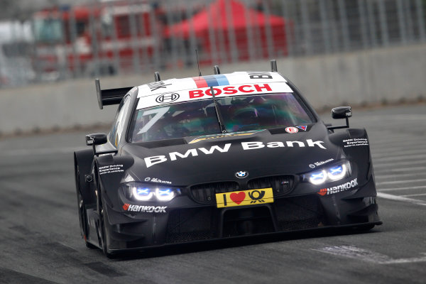2017 DTM Round 4 Norisring, Nuremburg, Germany Saturday 1 July 2017. Bruno Spengler, BMW Team RBM, BMW M4 DTM World Copyright: Alexander Trienitz/LAT Images ref: Digital Image 2017-DTM-R3-NOR-AT1-1024