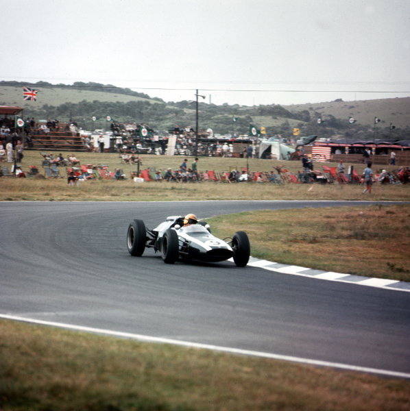 East London, South Africa.27-29 December 1962.Tony Maggs (Cooper T60 Climax) 3rd position.Ref-3/0763.World Copyright - LAT Photographic
