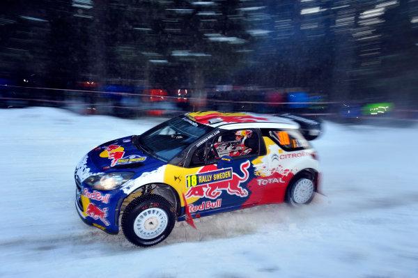 Round 02 - Rally Sweden 09-12 February 2012. Thierry, Neuville, Citroen WRC, Action  Worldwide Copyright: McKlein/LAT