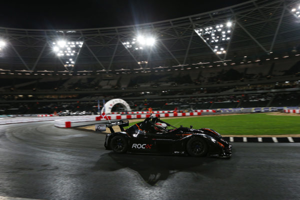 2015 Race Of Champions Olympic Stadium, London, UK Saturday 21 November 2015 Nico Hulkenberg (GER) in the Radical SR3 RSX Copyright Free FOR EDITORIAL USE ONLY. Mandatory Credit: 'IMP'