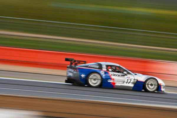 Silverstone, England. 30th April - 2nd May 2010. Arnaud Vincent / Arnaud  Peyroles (Graff Racing Corvette Z06R) Action. World Copyright: Drew Gibson/LAT Photographic. Digital Image _Y2Z3618
