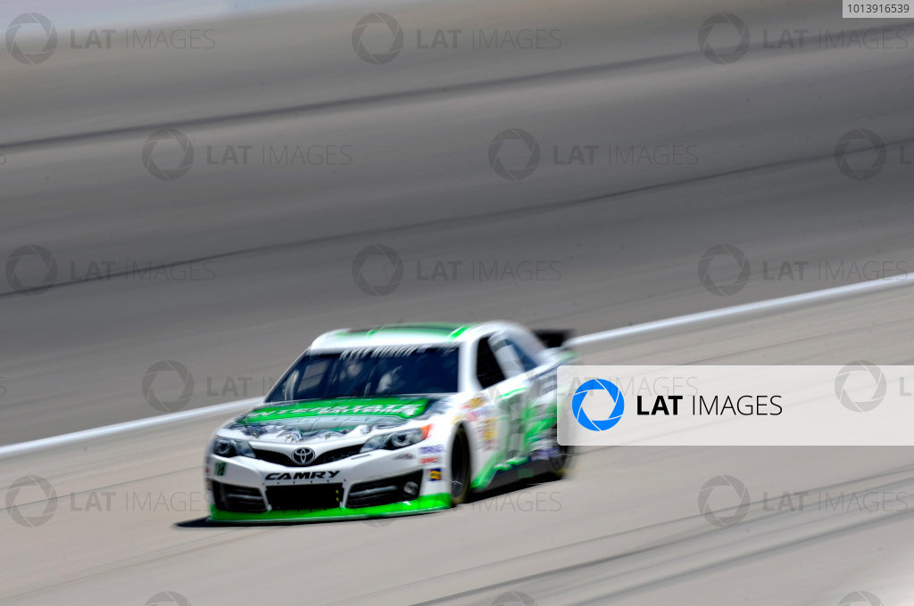 11-13 April, 2013, Fort Worth, Texas USA Kyle Busch, Interstate Batteries Toyota Camry ©2013, Nigel Kinrade LAT Photo USA