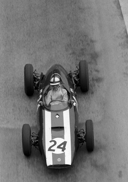 Jack Lewis (GBR) BRM P48/57 failed to qualify in his only drive for BRM. Monaco Grand Prix, Monte Carlo, 3 June 1962.