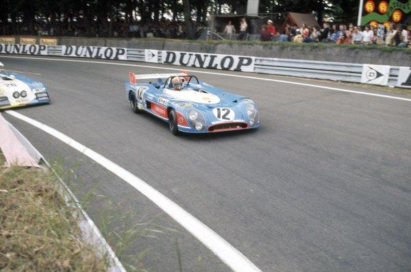 1973 Le Mans 24 hours.Le Mans, France. 9-10 June 1973.Jean-Pierre Jabouille (pictured)/Jean-Pierre Jaussaud (Matra-Simca MS670B), 3rd position.World Copyright: LAT PhotographicRef: 35mm transparency 73LM03