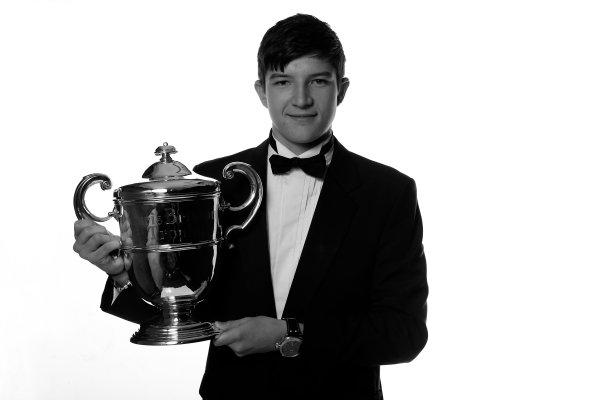 Sunday 2nd December 2012  2012 McLaren Autosport BRDC Young Driver of the Year Award winner Jake Dennis. World Copyright:Andrew Ferraro/  ref: Digital Image _79P2480