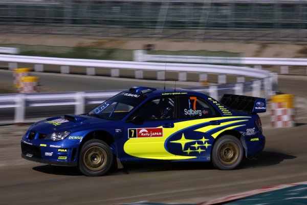 2007 FIA World Rally Champs. Round 14Rally Japan, 25th - 28th October 2007Petter Solberg, Subaru, actionWorld Copyright: McKlein/LAT