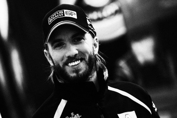 Nick Heidfeld (GER) Lotus Renault GP. Formula One World Championship, Rd 9, British Grand Prix, Race, Silverstone, England, Sunday 10 July 2011.Note: This image has been digitally altered from the original, which is also available on the archive. (d11gbr1735.jpg).