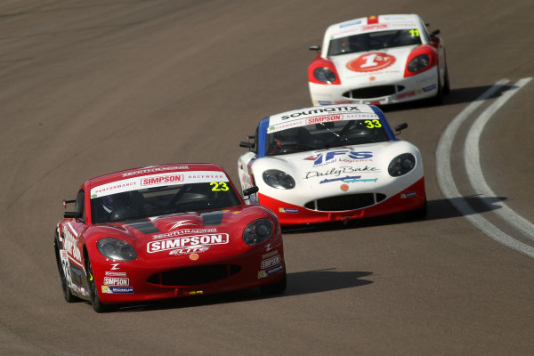 2017 Ginetta Junior Chamionship, Rockingham, 27th-28th August 2017, Tom Gamble  World copyright. JEP/LAT Images
