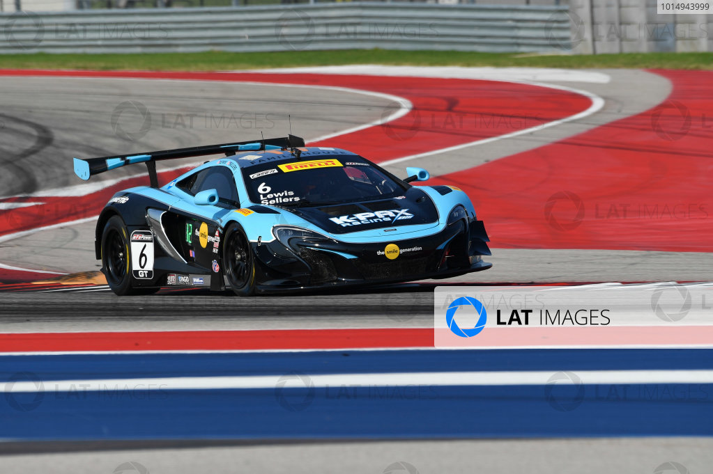 Pirelli World Challenge Grand Prix of Texas Circuit of The Americas, Austin, TX USA Friday 1 September 2017 Jonny Kane/Bryan Sellers World Copyright: Richard Dole/LAT Images ref: Digital Image RD_COTA_PWC_17017