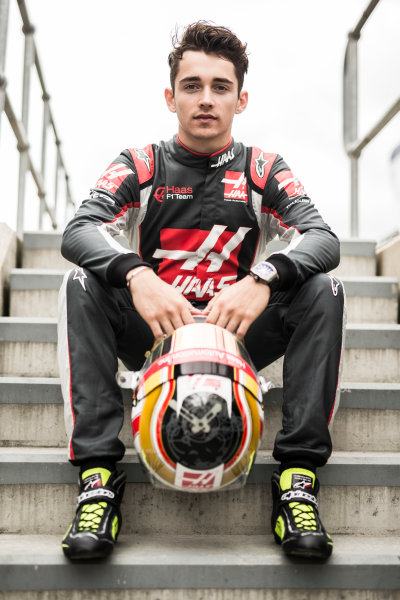Silverstone, Northamptonshire, UK Thursday 7 July 2016 Charles Leclerc, Haas F1 Team. World Copyright: Andrew Hone/LAT Images  ref: Digital Image _ONY6243