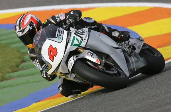 Valencia, Spain. 10th November 2009.Hiroshi Aoyama Scot Racing Honda.World Copyright: Martin HEath/LAT Photographicref: Digital Image SE5K1783