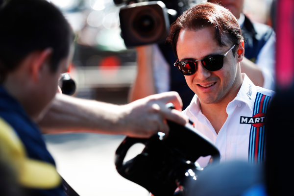 Albert Park, Melbourne, Australia. Thursday 23 March 2017. Felipe Massa, Williams Martini Racing.  World Copyright: Sam Bloxham/LAT Images ref: Digital Image _J6I0453