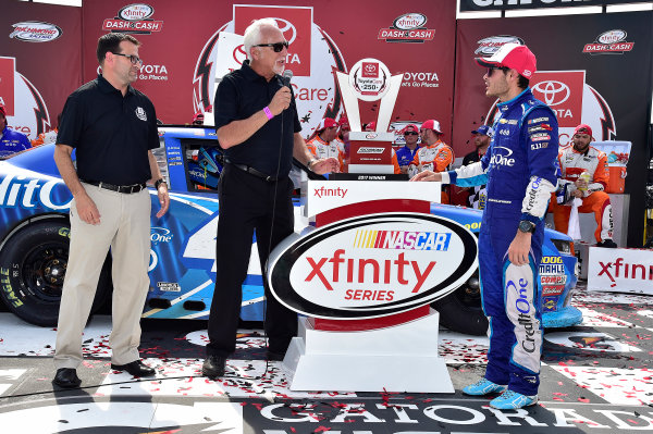 NASCAR Xfinity Series ToyotaCare 250 Richmond International Raceway, Richmond, VA USA Saturday 29 April 2017 Kyle Larson, Credit One Bank Chevrolet Camaro World Copyright: RUSTY JARRETT LAT Images ref: Digital Image 17RIC1rj_3559
