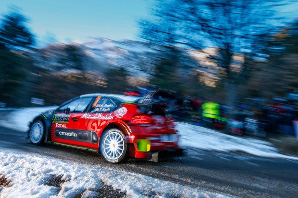 2017 FIA World Rally Championship,  Round 01, Rally Monte Carlo,  January 18-22, 2017,  Kris Meeke/Paul Nagle (Citroen C3 WRC) Worldwide Copyright: McKlein/LAT