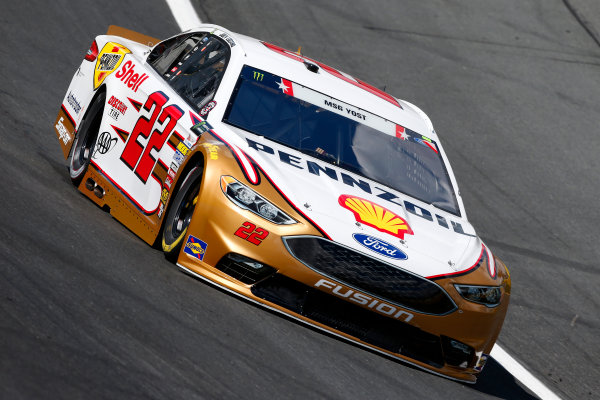 Monster Energy NASCAR Cup Series Coca-Cola 600 Charlotte Motor Speedway, Concord, NC USA Thursday 25 May 2017 Joey Logano, Team Penske, Shell Pennzoil Ford Fusion World Copyright: Lesley Ann Miller LAT Images