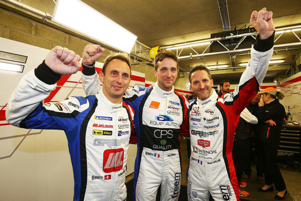#39 Graff, Oreca 07 - Tristan Gommendy, Vincvent Capillaire, Jonathan Hirschi take pole position in the LMP2 class