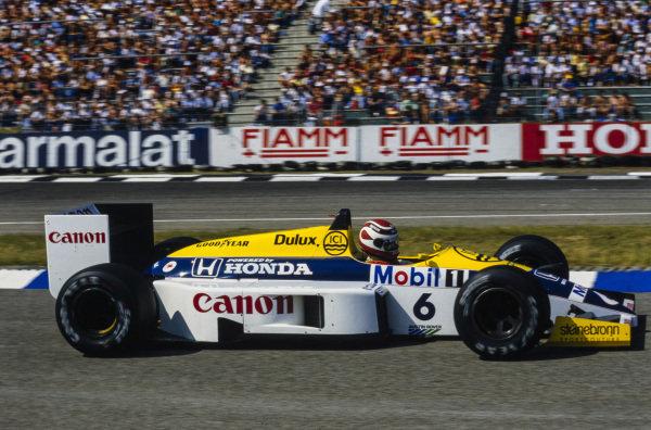 Nelson Piquet, Williams FW11 Honda.