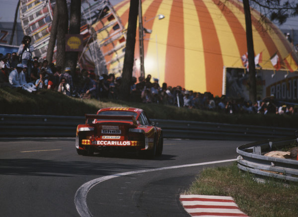 "Herbert Muller / Claude Haldi / ""Nico"", Haberthur Meccarillos Cégécol Racing Team, Porsche 935."