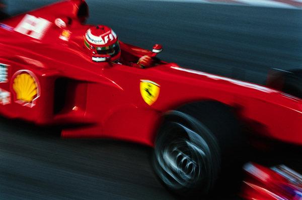 Eddie Irvine, Ferrari F399.