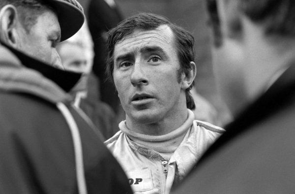 Jackie Stewart.