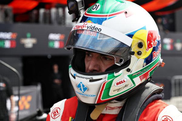 Memo Rojas (MEX) prepares to drive