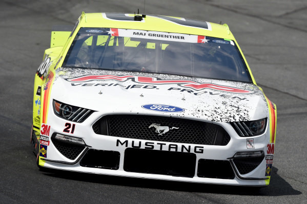 Matt DiBenedetto, Wood Brothers Racing Ford Menards/FVP, Copyright: Jared C. Tilton/Getty Images.