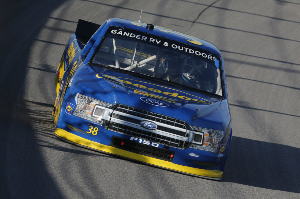 #38: Todd Gilliland, Front Row Motorsports, Speedco Ford F-150