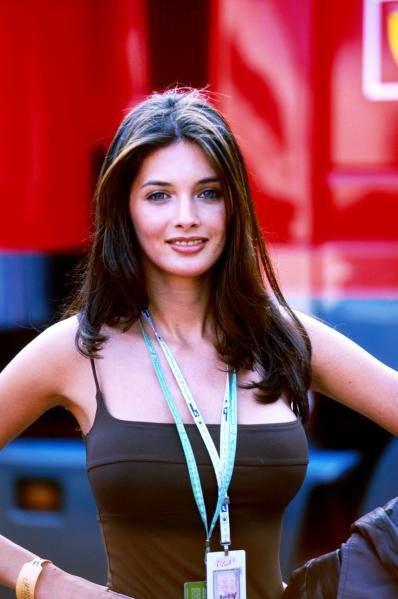 Girl. San Marino GP, Imola, 2 May 1999